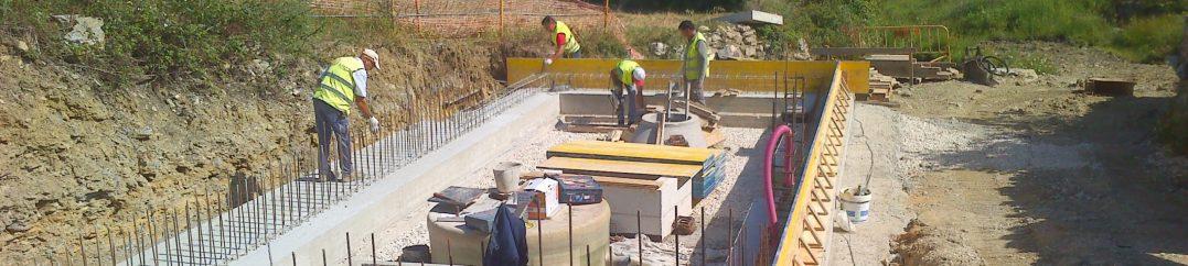 Empreitada de Construção do Sistema de Saneamento de Alvarinhos, Areias, Barreira, S. Miguel e Funchal