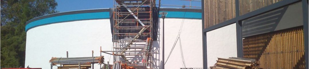 Reabilitação estrutural do reservatório de Ranholas