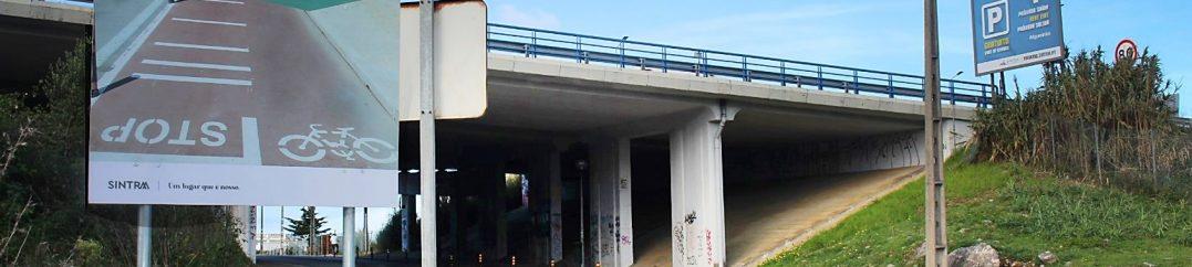 Remodelação das redes de abastecimento de água e drenagem pluvial na Portela de Sintra