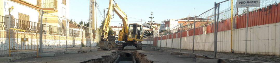 Remodelação de redes em Pero Pinheiro