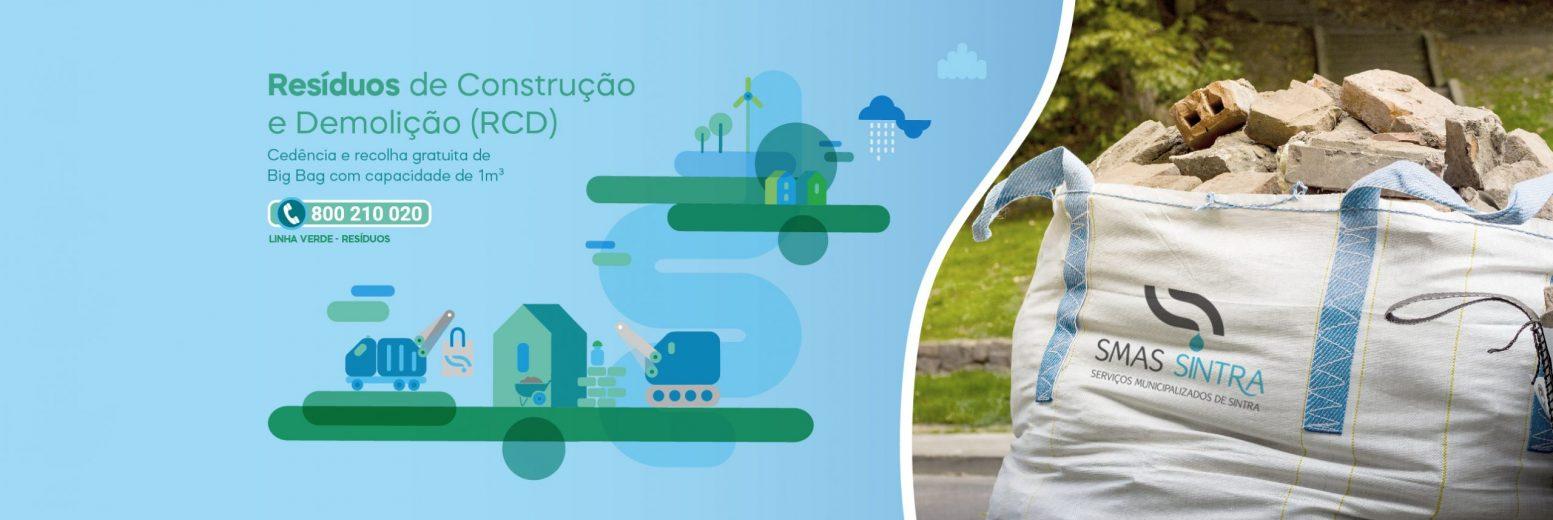 SMAS de Sintra disponibilizam sacos para resíduos de construção e demolição
