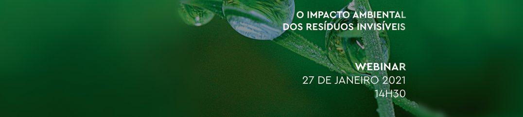 """Webinar """"Impacto Ambiental dos Resíduos Invisíveis"""""""