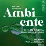 """Webinar sobre """"Impacto Ambiental dos Resíduos Invisíveis"""""""