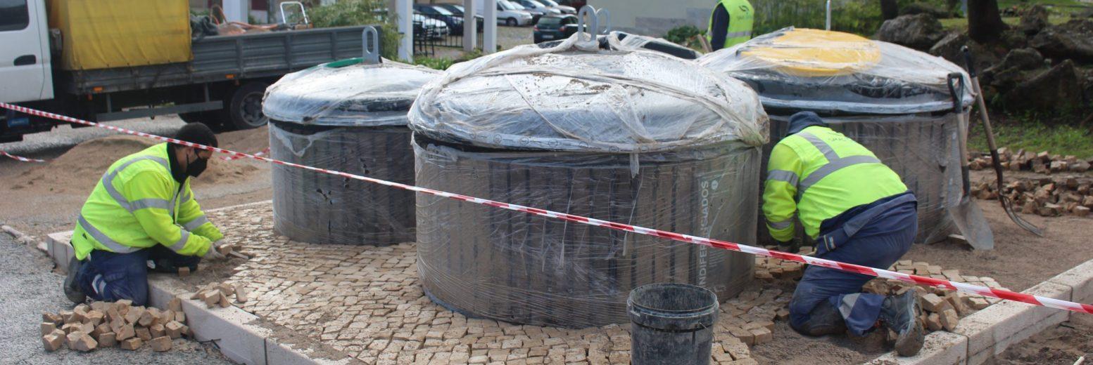 Sintra instala 195 contentores enterrados na Serra das Minas
