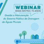 Webinar sobre gestão de águas pluviais
