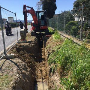 Prolongamento de rede de abastecimento de água na Terrugem (EN 247)
