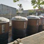 Renovação de contentorização na Serra das Minas