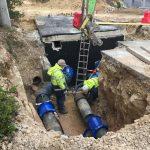 SMAS de Sintra reforçam sistema de abastecimento de água em Morelena