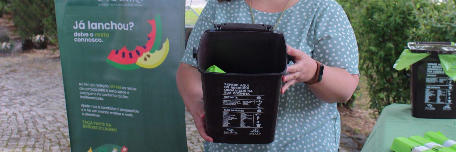 Sintra alarga recolha seletiva de resíduos alimentares