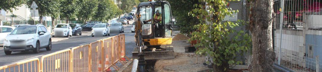 Remodelação da rede de abastecimento de água no Algueirão