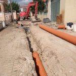 SMAS de Sintra instalam rede de drenagem de águas residuais na Rua do Massapez em Montelavar